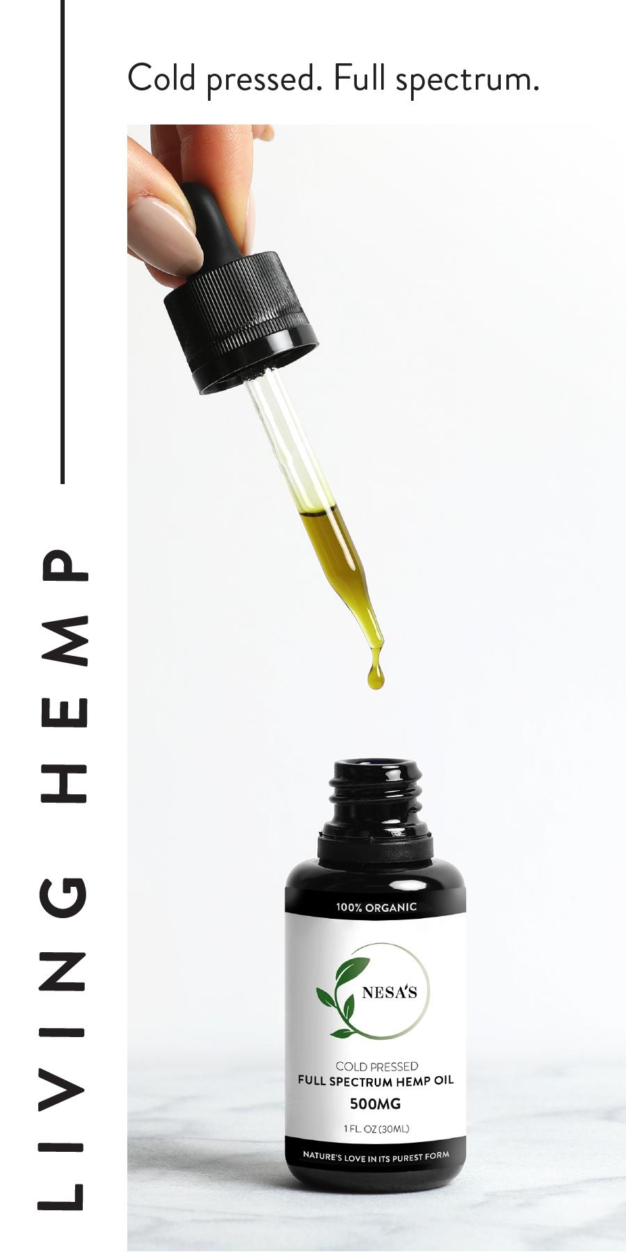 Organic CDB Hemp Oil